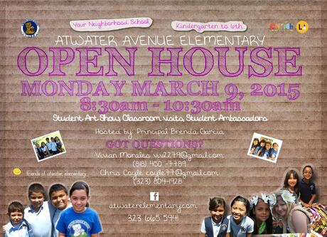 CALLING ALL PROSPECTIVE PARENTS! JOIN US FOR OUR SPRING OPEN HOUSE ON MONDAY,  MARCH 9TH, 2015.